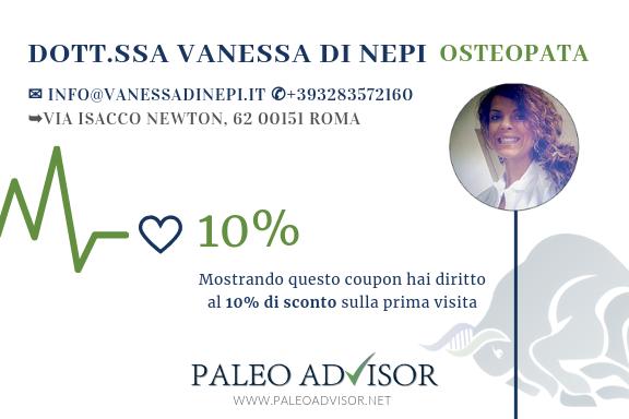 vanessa-di-nepi-coupon-sconto-paleoadvisor