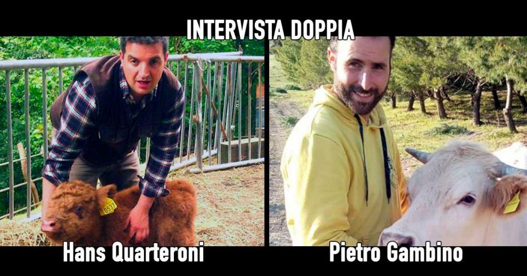 Hans Quarteroni e Pietro Gambino