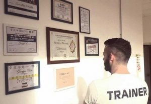 Giuseppe Cresce Personal Trainer Diplomi