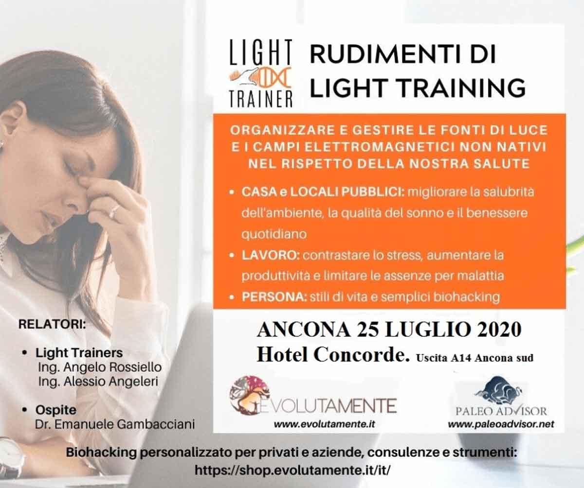 Rudimenti Di Light Training Ancona 25 Luglio 2020 Evolutamente Paleoadvisor
