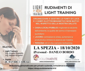 Rudimenti di Light Training La Spezia Ottobre 2020